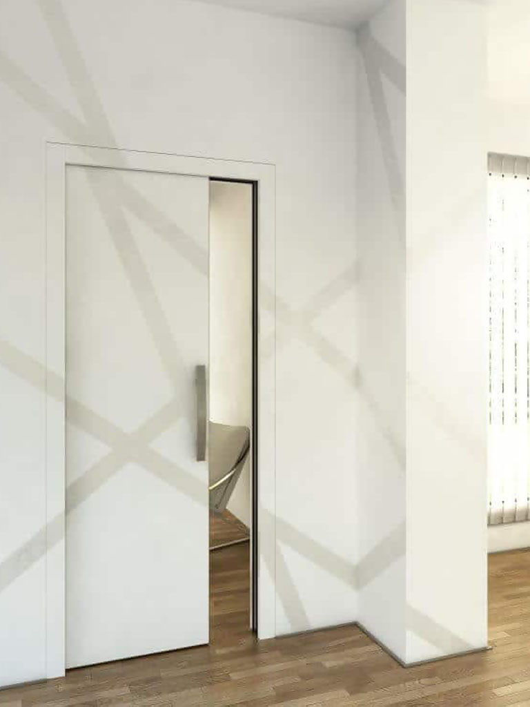 Latente, stavebne puzdra JAP, Atelier Suchanek Bratislava Dubravka showroom, motáž a servis, dvere na mieru
