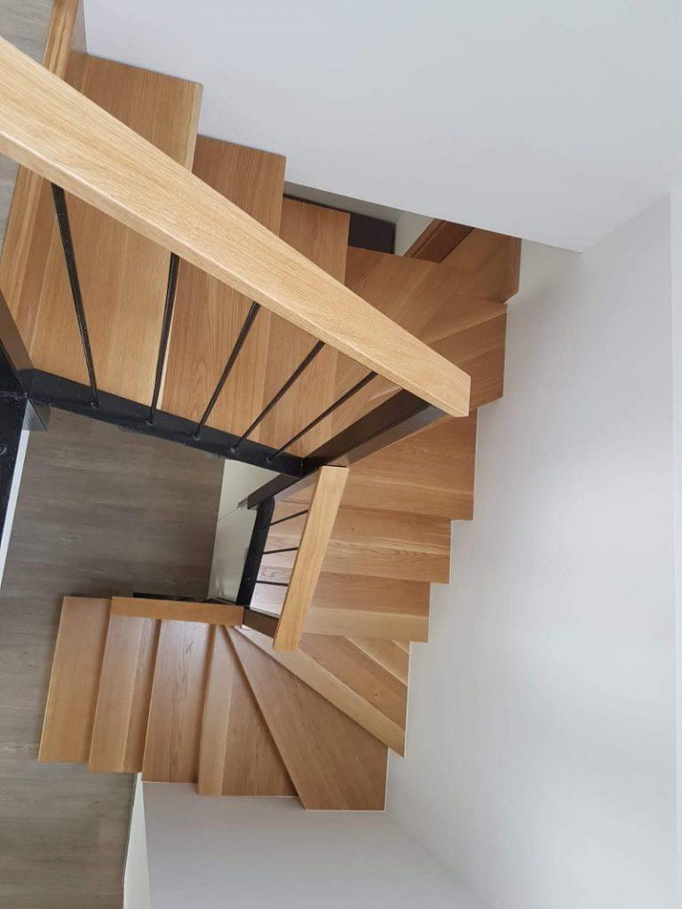 Schody, schodisko, obklad betonoveho schodiska, , realizacia, Ateliér Suchánek Bratislava Dúbravka showroom, motáž a servis Slovensko