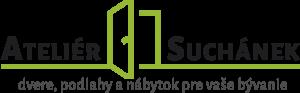 Atelier Suchanek logo, dvere, podlahy a nábytok pre vaše bývanie