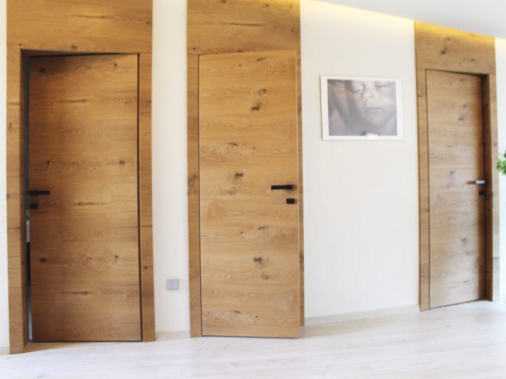 dvere na mieru realizacia interier, Ateliér Suchánek Bratislava Dúbravka showroom, motáž a servis Slovensko