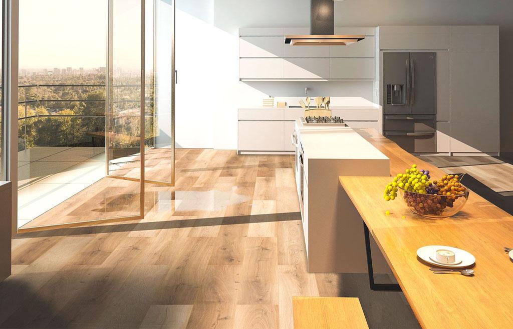 Laminátové podlahy Classen, eco, Atelier Suchanek Dubravka showroom, motáž a servis