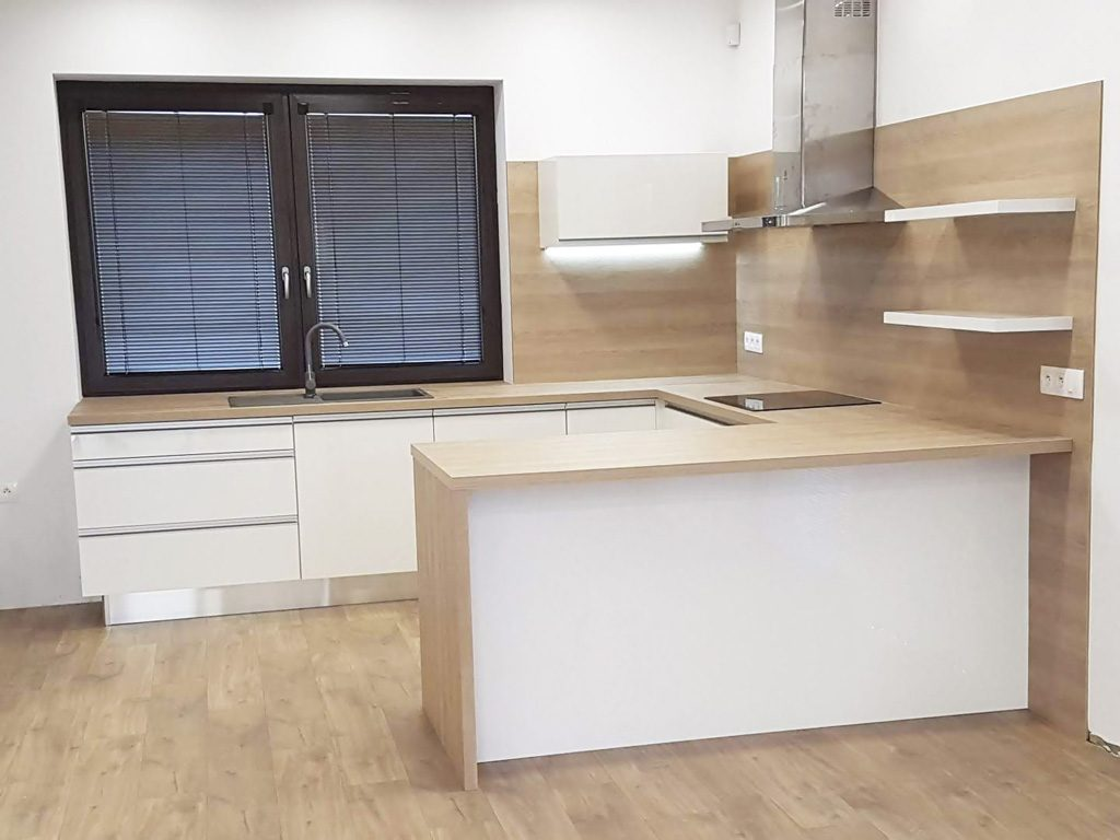 Kuchyne na mieru, realizacia, Ateliér Suchánek Bratislava Dúbravka showroom, motáž a servis, kuchynska linka, kuchynske linky
